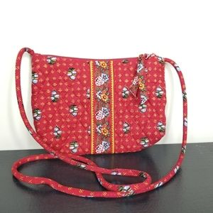 Vera Bradley Crossbody Petite Provincial Red Bag